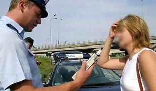 Policjantce się nie upiecze