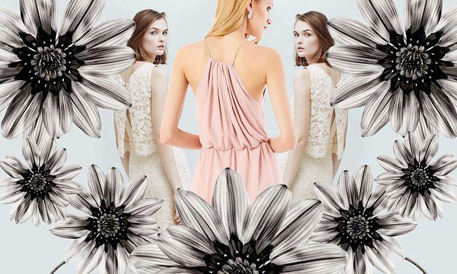 Biała sukienka za bezcen