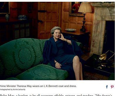 """Theresa May na okładce magazynu """"Vogue"""""""