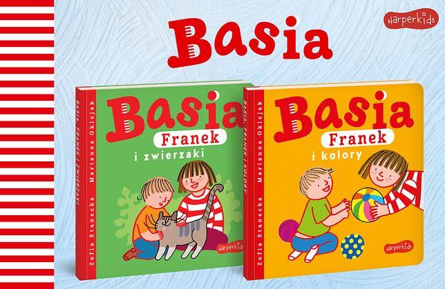 """Nowości w kartonowej serii """"BASIA"""" dla najmłodszych czytelników"""