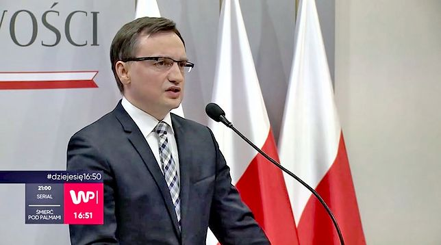 Minister sprawiedliwości Zbigniew Ziobro ostro o propozycji Andrzeja Dudy