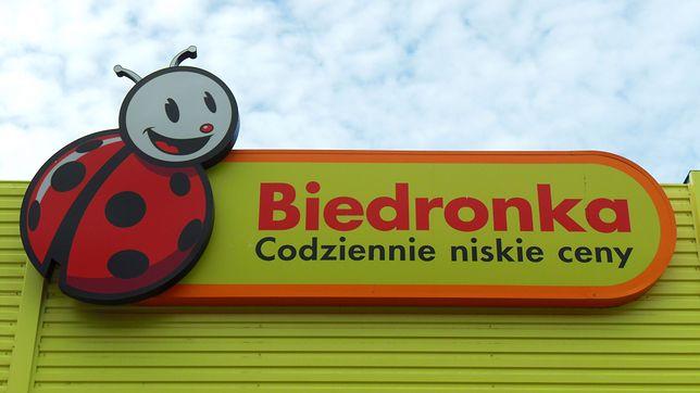Wyciekł gaz w jednym ze sklepów sieci Biedronka
