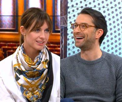 #dzieńdobryWP: Julia Kamińska i Filip Bobek o pragnieniu miłości. Słynny duet znów razem! WIDEO
