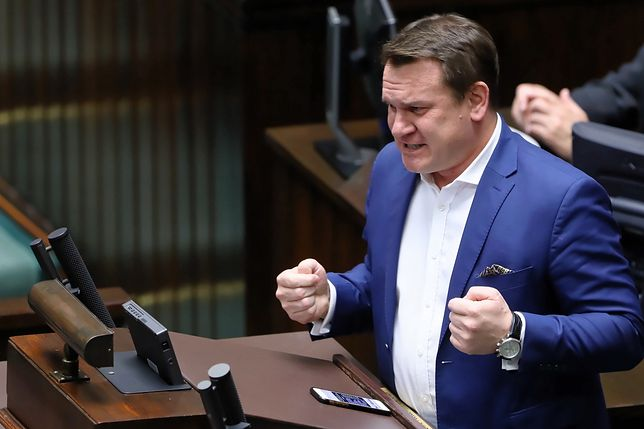 Dominik Tarczyński zaatakował Marcina Mellera