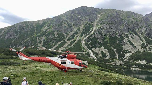 Wypadek w Tatrach. Znaleziono nieprzytomną kobietę