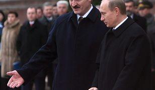 Białoruś. Aleksander Łukaszenka i Władimir Putin