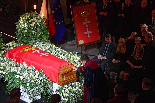 Uroczystości pożegnalne prezydenta Gdańska Pawła Adamowicza, zamordowanego podczas finału WOŚP