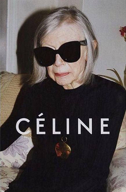 Celine jest marką dla charyzmatycznych, inteligentnych kobiet, a Joan Didion jest jej królową