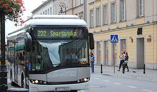 Autobusy elektryczne będą kursować w Warszawie