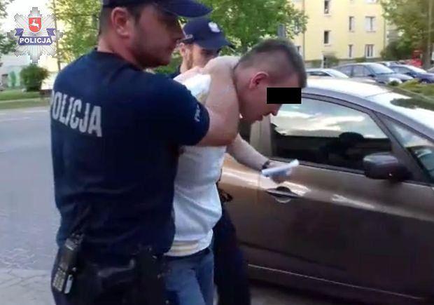 Pijany kierowca potrącił matkę z dwojgiem dzieci w Puławach