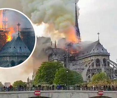 Płonąca katedra