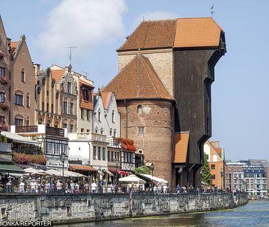 Gdański żuraw to niejedyny obiekt w Wiedźminie