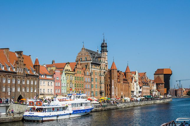 """Gdańsk nazywany jest czasem """"polską Kopenhagą"""""""