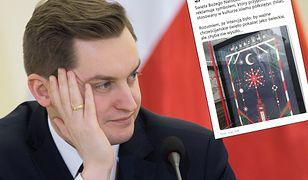 """Były rzecznik ministerstwa sprawiedliwości Sebastian Kaleta """"błysnął"""" na Twitterze"""
