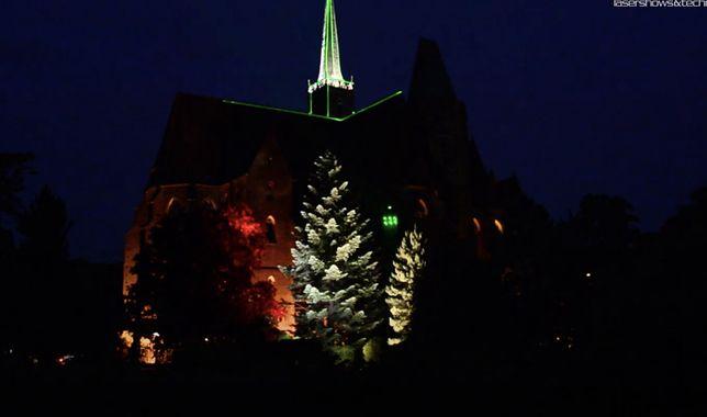Wrocław. Iluminacje w Ogrodzie Botanicznym aż do Walentynek. Zachwycają mieszkańców