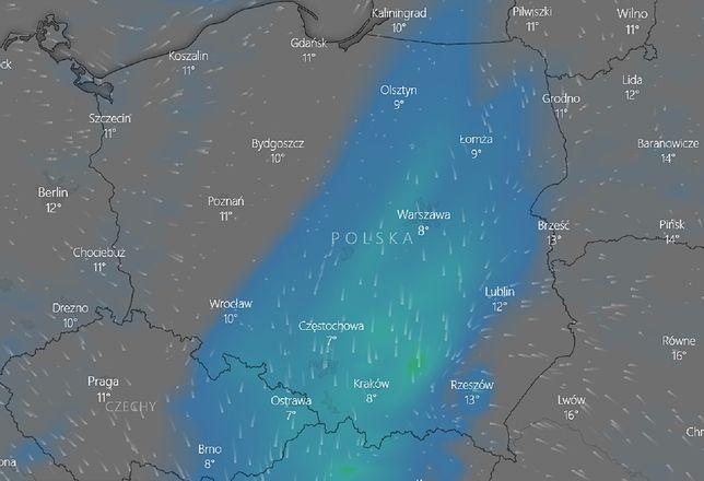 Pogoda na 12 października. Ostrzeżenia IMGW. Synoptycy zalecają ostrożność