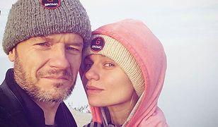 Emilia Komarnicka i Redbad Klynstra tworzą szczęśliwe małżeństwo