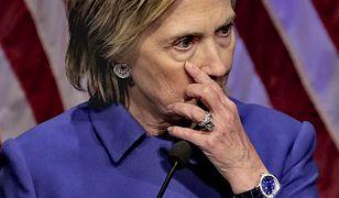 Clinton: gdyby nie list szefa FBI, wygrałabym
