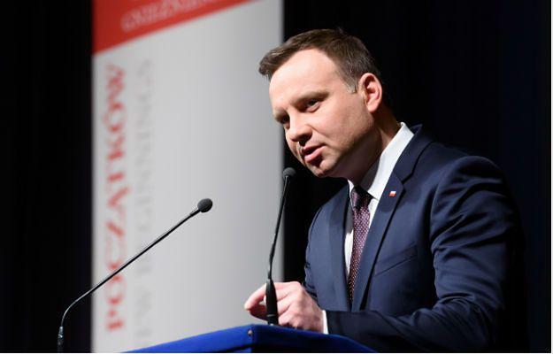 Prezydent podczas przemówienia z okazji X Zjazdu Gnieźnieńskiego