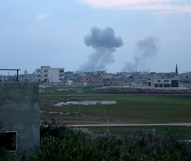 Syria. Rosyjskie samoloty zbombardowały Arihę. Rzeź cywilów