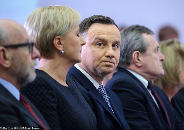 Andrzej Duda nie ucieka od tematu krytyki Antoniego Macierewicza