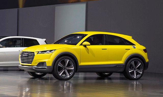Audi TT offroad concept: sportowy SUV