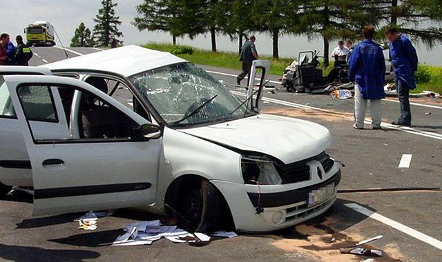 Ponad 35 tys. wypadków drogowych w 2013 roku
