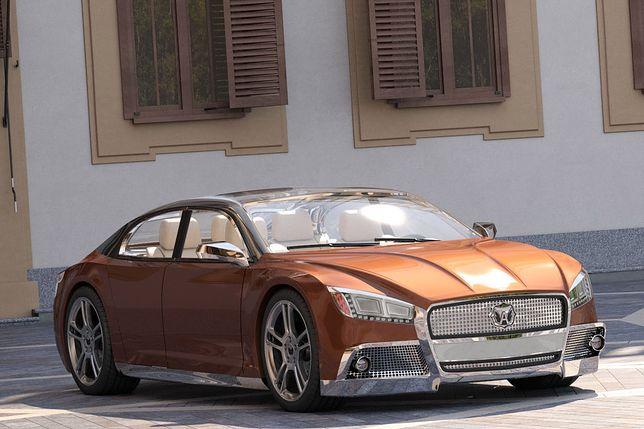 Wołga 2020 pomysłem na luksusową limuzynę z Rosji