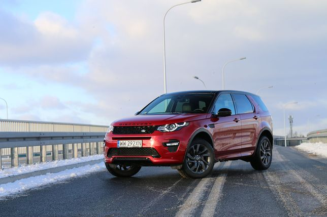 Land Rover Discovery Sport 2.0 TD4 180 KM HSE - Mały odkrywca