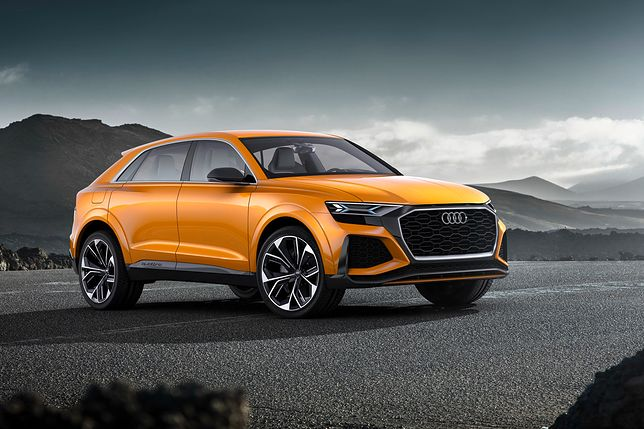 Genewa 2017: Audi Q8 sport concept: zapowiedź nowego SUV-a
