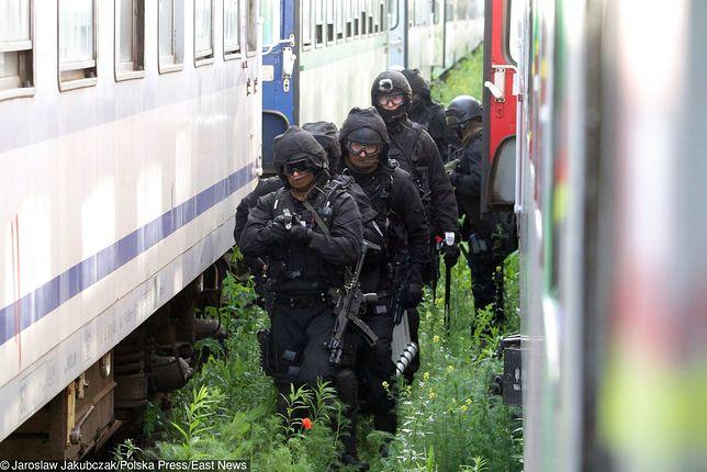 Służby sprawdziły pociąg, w którym miało dojść do porwania