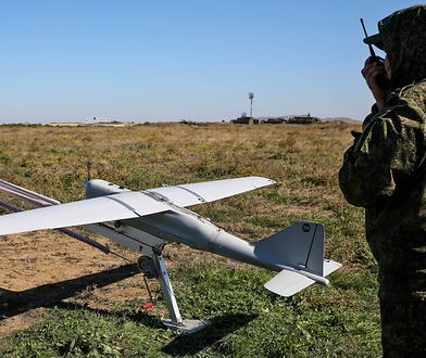 Drony są wykorzystywane do rozpoznania i naprowadzania artylerii