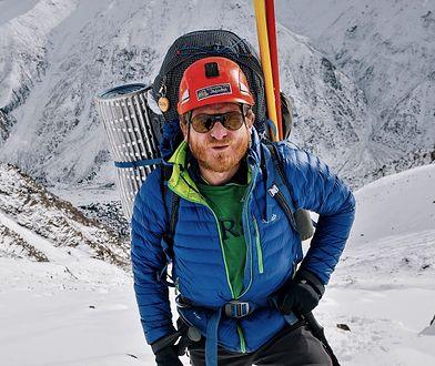 Tomek Mackiewicz podczas jednej z wypraw na Nanga Parbat
