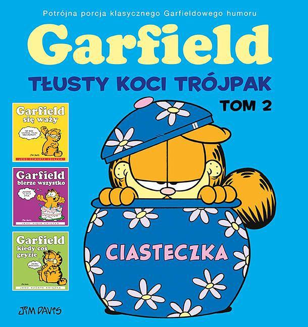 Garfield. Tłusty koci trójpak 2, Egmont
