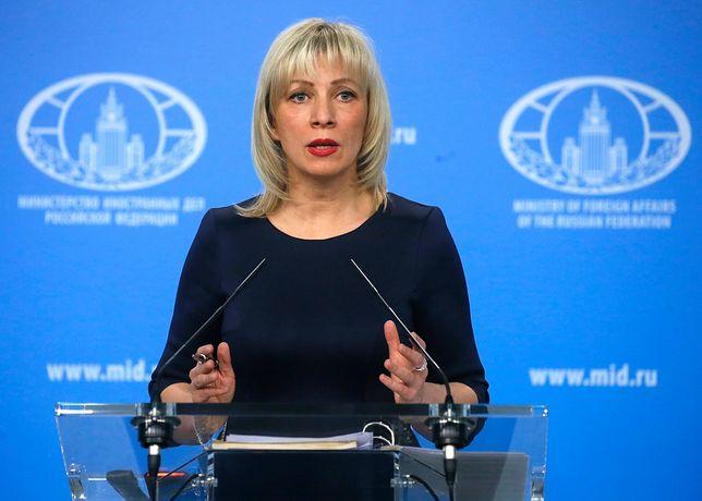 Zacharowa: to zagrożenie dla bezpieczeństwa narodowego Federacji Rosyjskiej