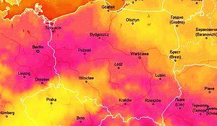 Pogoda. W sobotę upalne powietrze w północnych regionach dotrze do linii Wisły