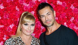 Katarzyna Skrzynecka i Marcin Łopucki pobrali się w czerwcu 2009 roku