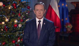 Tomasz Grodzki, marszałek Senatu, wygłosił orędzie