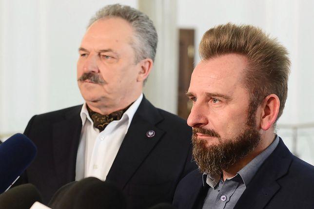 Marek Jakubiak i  Piotr Liroy Marzec opuścili Konfederację
