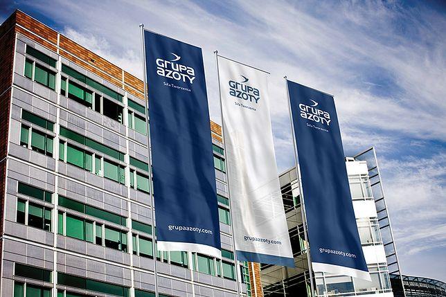 Grupa Azoty swoją główną siedzibę ma w Tarnowie
