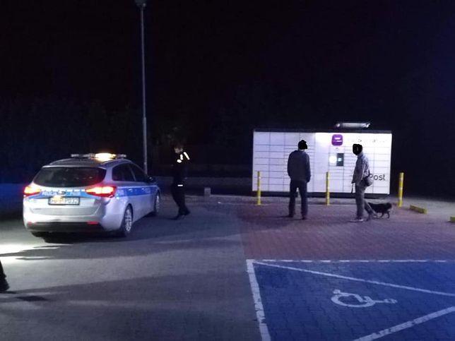 Policja i straż pożarna musiały interweniować o 1:30 w nocy z poniedziałku na wtorek.
