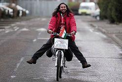 Odwiedził rowerem niemal cały świat. To, co spotkało go w Polsce, zapamięta na zawsze