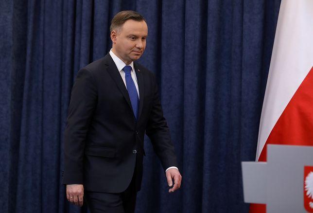 Ukraińskie media o oświadczeniu prezydenta Dudy: słowo Ukraina nawet nie padło