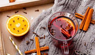 Rozgrzewająca herbata z imbirem