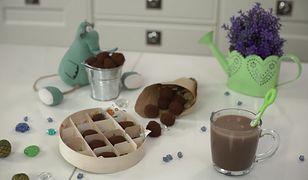 Domowe trufle czekoladowe. Prosty przepis