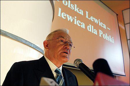 Miller wybrany na przewodniczącego Polskiej Lewicy