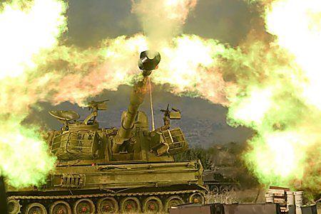 Siły izraelskie wkroczyły do Libanu