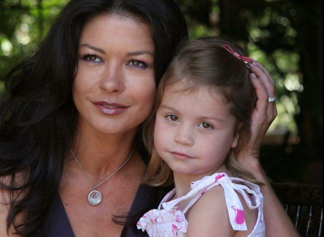 Catherine Zeta-Jones z córką