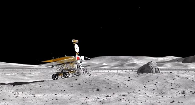 NASA pokazuje podróż łazika Yutu 2