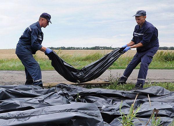 Ciała ofiar katastrofy samolotu w wagonach chłodniczych. Władze Ukrainy negocjują ich wywiezienie